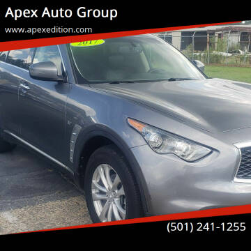 2017 Infiniti QX70 for sale at Apex Auto Group in Cabot AR