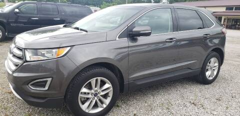 2017 Ford Edge for sale at COOPER AUTO SALES in Oneida TN