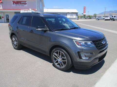 2016 Ford Explorer for sale at West Motor Company in Hyde Park UT