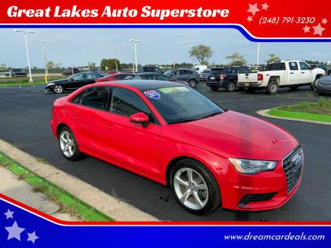 2015 Audi A3 for sale at Great Lakes Auto Superstore in Waterford Township MI
