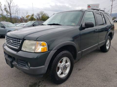 2003 Ford Explorer for sale at Salem Auto Sales in Salem VA