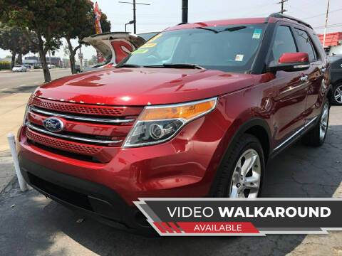 2013 Ford Explorer for sale at Auto Max of Ventura in Ventura CA