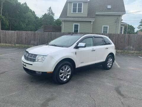 2009 Lincoln MKX for sale at Pristine Auto in Whitman MA