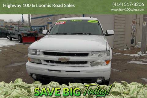 2006 Chevrolet Suburban for sale at Highway 100 & Loomis Road Sales in Franklin WI