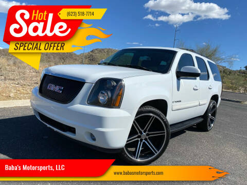 2007 GMC Yukon for sale at Baba's Motorsports, LLC in Phoenix AZ