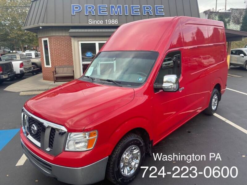 2012 Nissan NV Cargo for sale in Washington, PA