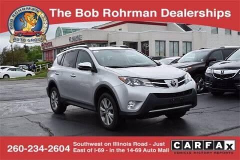 2013 Toyota RAV4 for sale at BOB ROHRMAN FORT WAYNE TOYOTA in Fort Wayne IN