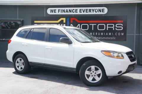 2009 Hyundai Santa Fe for sale at Meru Motors in Hollywood FL