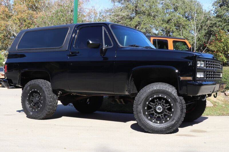 1985 Chevrolet Blazer for sale at SELECT JEEPS INC in League City TX
