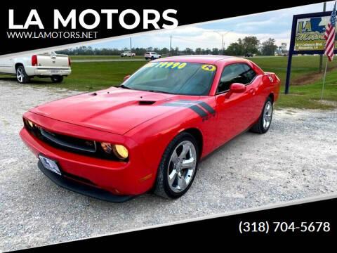 2014 Dodge Challenger for sale at LA MOTORS in Alexandria LA