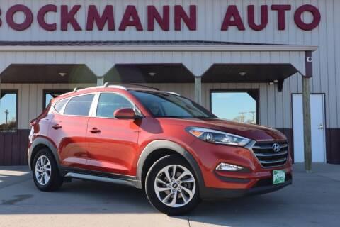 2016 Hyundai Tucson for sale at Bockmann Auto Sales in St. Paul NE