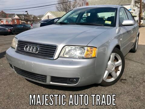 2003 Audi A6 for sale at Majestic Auto Trade in Easton PA