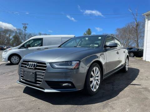 2013 Audi A4 for sale at SOUTH SHORE AUTO GALLERY, INC. in Abington MA