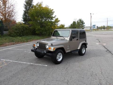 2004 Jeep Wrangler for sale at ALL ACCESS AUTO in Murray UT