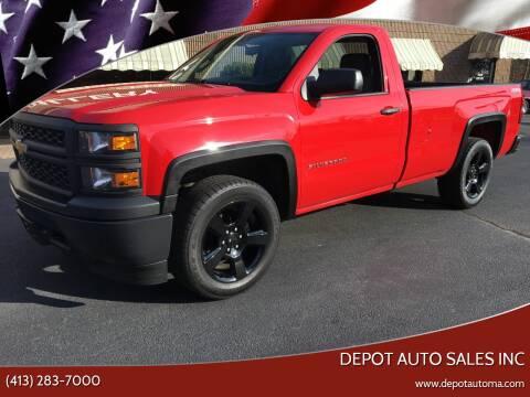 2014 Chevrolet Silverado 1500 for sale at Depot Auto Sales Inc in Palmer MA