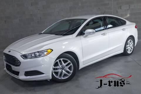 2013 Ford Fusion for sale at J-Rus Inc. in Macomb MI