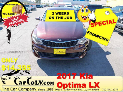 2017 Kia Optima for sale at The Car Company in Las Vegas NV