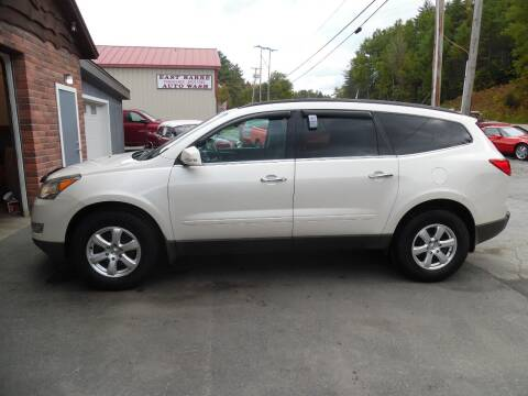 2012 Chevrolet Traverse for sale at East Barre Auto Sales, LLC in East Barre VT
