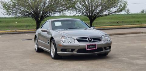 2004 Mercedes-Benz SL-Class for sale at America's Auto Financial in Houston TX