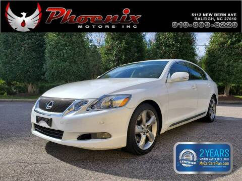 2010 Lexus GS 350 for sale at Phoenix Motors Inc in Raleigh NC