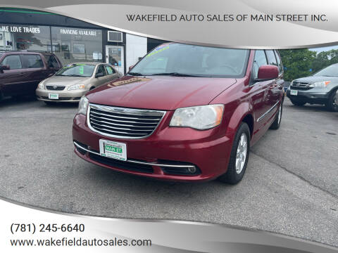 2011 Chrysler Town and Country for sale at Wakefield Auto Sales of Main Street Inc. in Wakefield MA