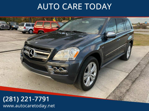 2010 Mercedes-Benz GL-Class for sale at AUTO CARE TODAY in Spring TX
