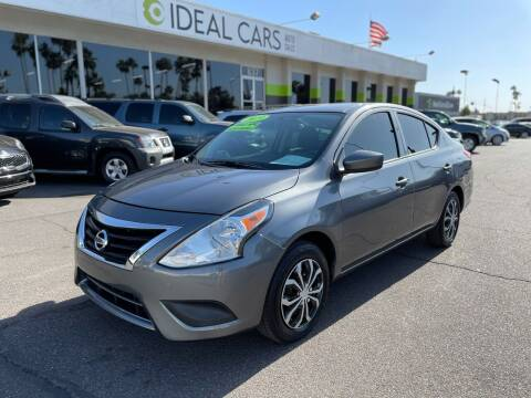 2019 Nissan Versa for sale at Ideal Cars Broadway in Mesa AZ