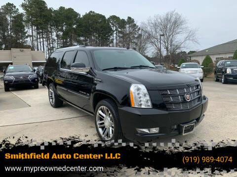 2013 Cadillac Escalade ESV for sale at Smithfield Auto Center LLC in Smithfield NC