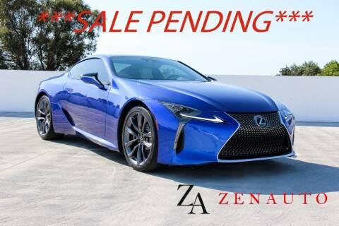 2018 Lexus LC 500 for sale at Zen Auto Sales in Sacramento CA