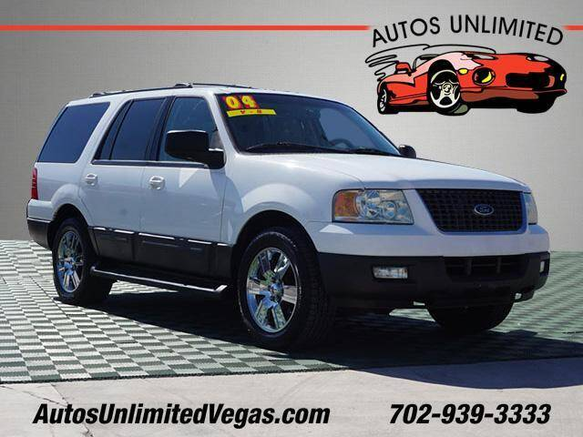 2004 Ford Expedition for sale at Autos Unlimited in Las Vegas NV