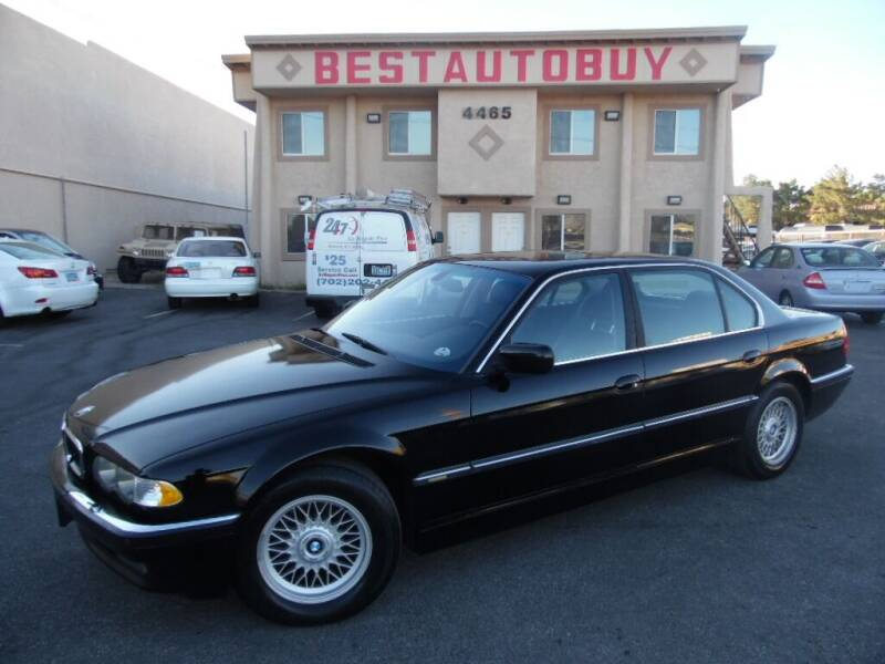 2001 BMW 7 Series for sale at Best Auto Buy in Las Vegas NV