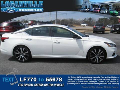 2020 Nissan Altima for sale at Loganville Quick Lane and Tire Center in Loganville GA