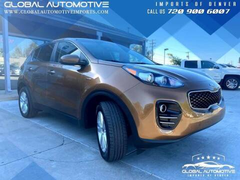 2018 Kia Sportage for sale at Global Automotive Imports of Denver in Denver CO