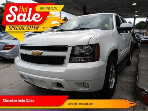 2013 Chevrolet Tahoe for sale at Cherokee Auto Sales in Acworth GA