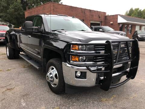 2015 Chevrolet Silverado 3500HD for sale at Creekside Automotive in Lexington NC