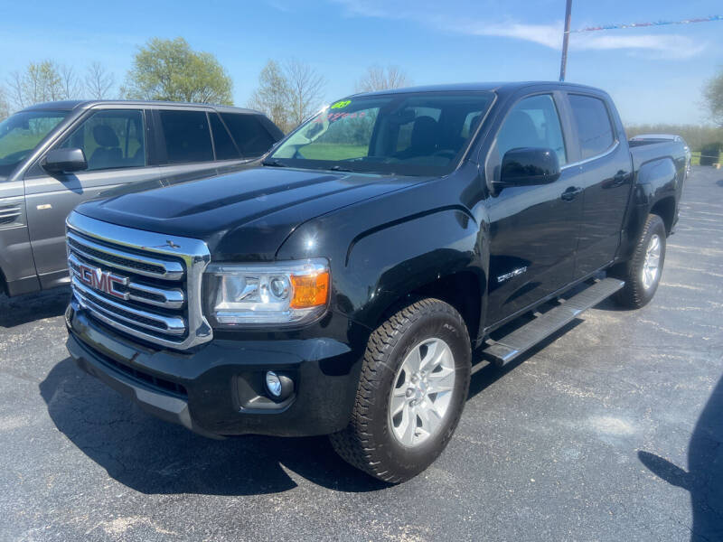 2016 GMC Canyon for sale at EAGLE ONE AUTO SALES in Leesburg OH