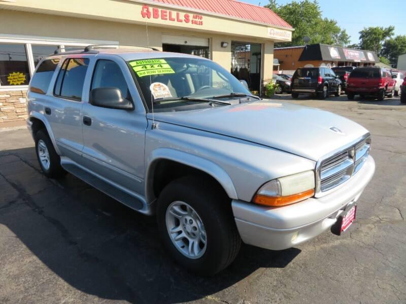 2003 Dodge Durango for sale at Bells Auto Sales in Hammond IN