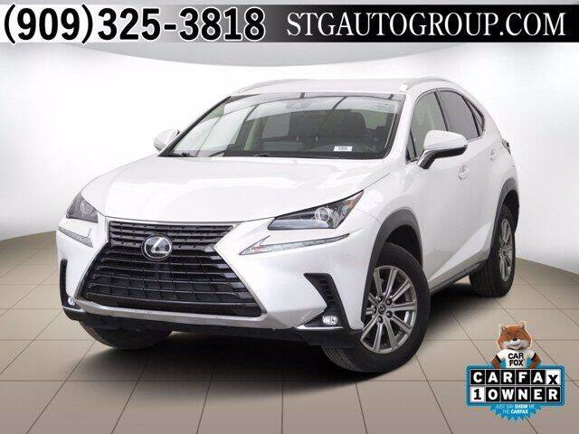 2018 Lexus NX 300 for sale at STG Auto Group in Montclair CA