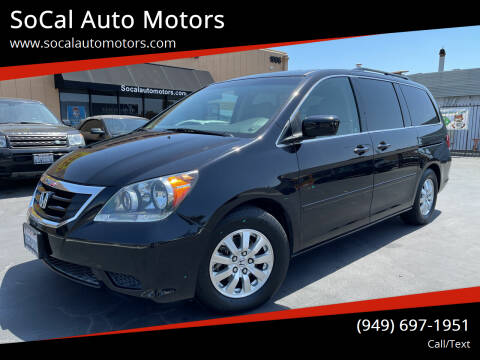 2008 Honda Odyssey for sale at SoCal Auto Motors in Costa Mesa CA