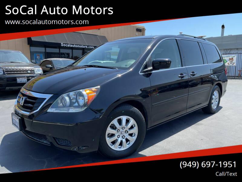 2008 Honda Odyssey for sale at SoCal Auto Motors in Costa Mesa CA