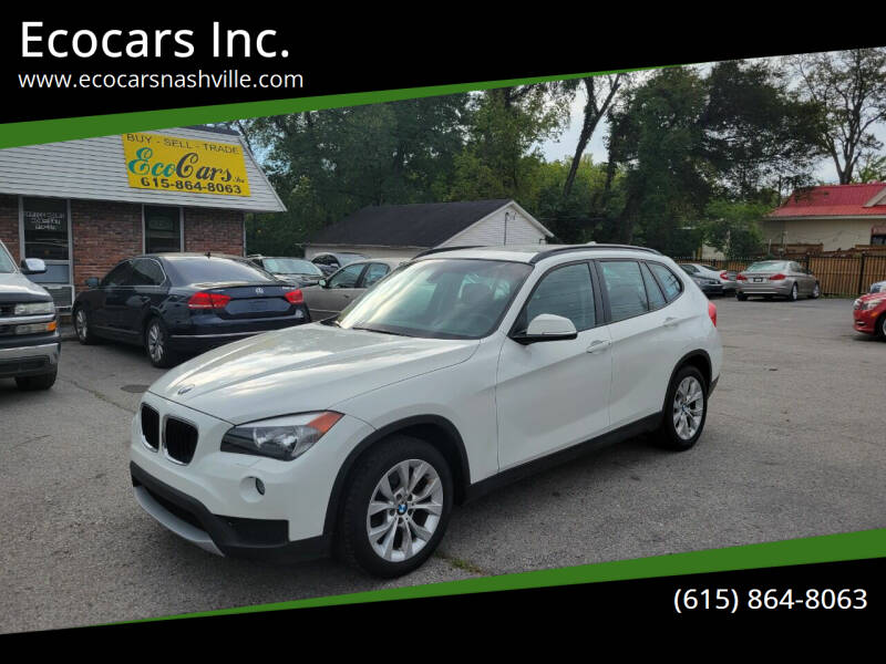 2014 BMW X1 for sale at Ecocars Inc. in Nashville TN