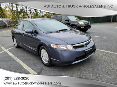 2008 Honda Civic for sale at AW Auto & Truck Wholesalers  Inc. in Hasbrouck Heights NJ