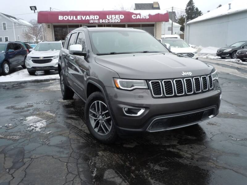 2018 Jeep Grand Cherokee for sale at Boulevard Used Cars in Grand Haven MI