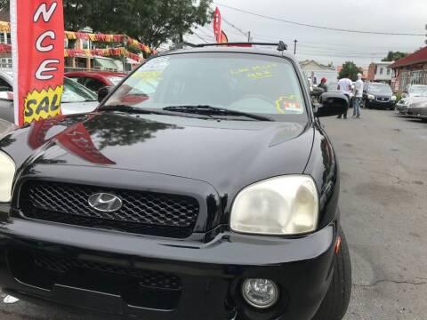 2002 Hyundai Santa Fe for sale at Chambers Auto Sales LLC in Trenton NJ