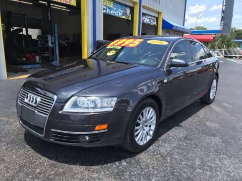 2006 Audi A6 for sale at RoMicco Cars and Trucks in Tampa FL