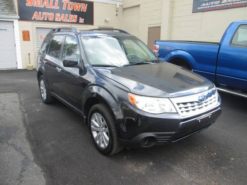 2011 Subaru Forester for sale at Small Town Auto Sales in Hazleton PA