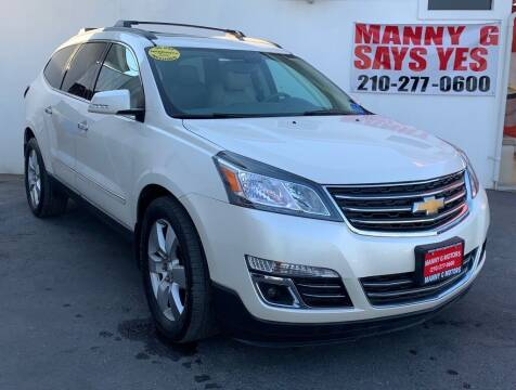 2013 Chevrolet Traverse for sale at Manny G Motors in San Antonio TX