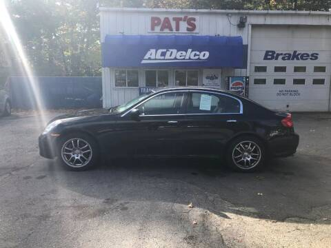 2006 Infiniti G35 for sale at Route 107 Auto Sales LLC in Seabrook NH
