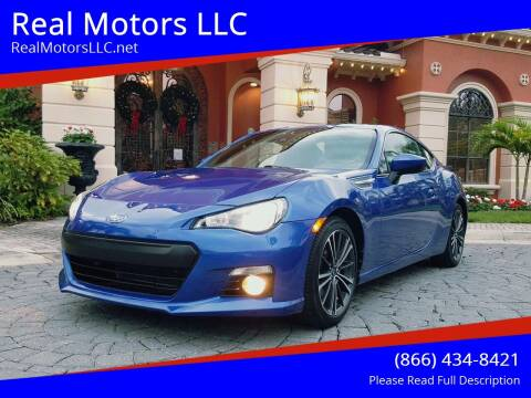 2016 Subaru BRZ for sale at Real Motors LLC in Clearwater FL