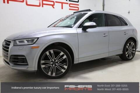 2018 Audi SQ5 for sale at Fishers Imports in Fishers IN